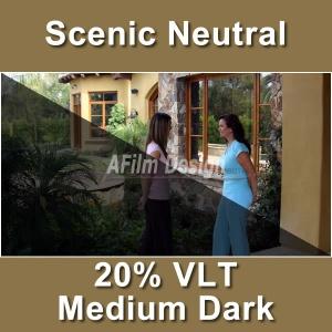 Neutral Window Tinting Film