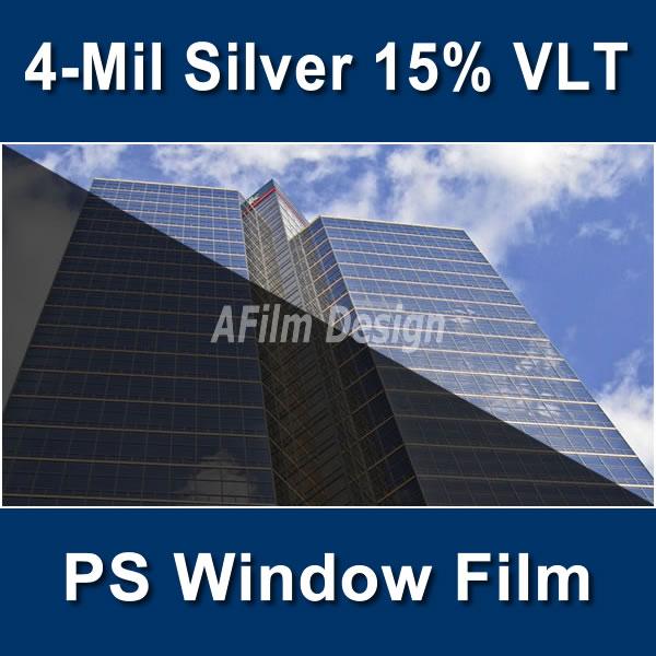 Axis 4 Mil Silver 15 Vlt Ps Window Film