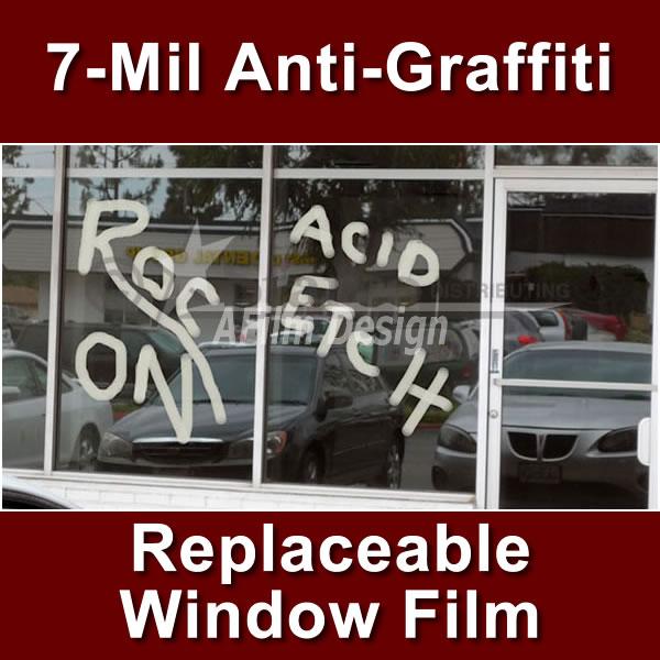 Anti-Graffiti Window Film