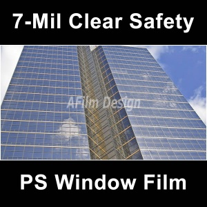 Safety window tinting film