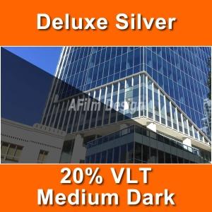 Silver window tinting film