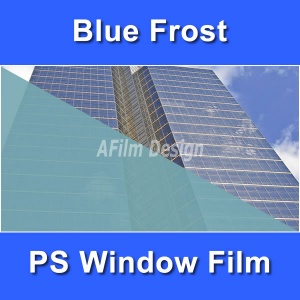Blue Frosted window tinting film