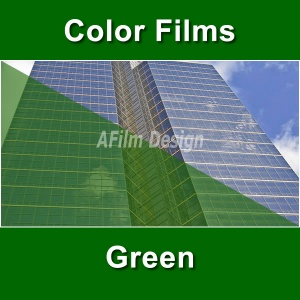Green window tinting film