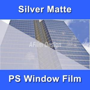 Silver Matte window tinting film