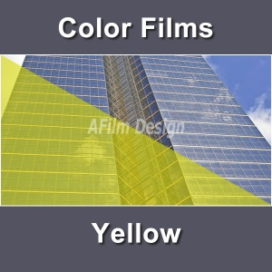 Yellow window tinting film